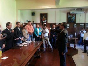 En sesión de Ayuntamiento protesta el cargo de cronista del Municipio de Celaya