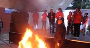Acción Nacional expone a las familias huimilpenses con actos vandálicos