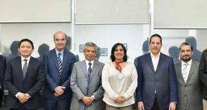 Gobernador de Querétaro se reúne con la Secretaria de la Función Pública