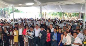 Se reúne el senador por Querétaro, Mauricio Kuri, con más de mil profesores.