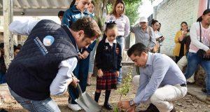Van 12 mil árboles plantados del programa Corregidora Reforesta Contigo