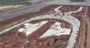 No pueden destruir o modificar obras del Nuevo Aeropuerto en Texcoco, mientras Santa Lucía detenido