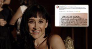 """""""Perdón por mi estúpida esperanza""""; Susana Zabaleta ante falta de apoyo a cultura con AMLO"""