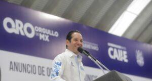 Anuncia gobernador obra social por más de 100 millones de pesos para Corregidora