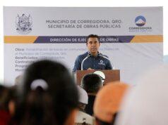 Entrega Roberto Sosa rehabilitación de bordo en Charco Blanco