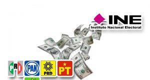 4 mil 988 mdp para partidos en 2020, da a conocer el INE; 33.1 % será para Morena