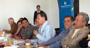 Mauricio Kuri se reúne con ex delegados federales, busca unidad para trabajar por el bien de México