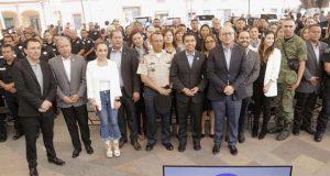 Cien elementos de la SSPM de Corregidora recibieron reconocimientos e incentivos.