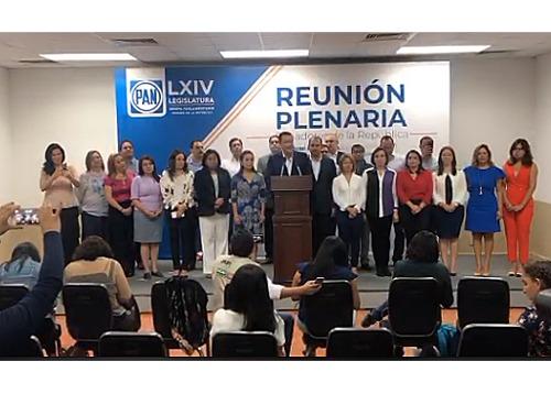 Mauricio Kuri da a conocer Agenda Legislativa de senadores del PAN para próximo periodo
