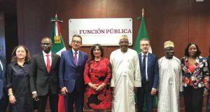 México contribuirá al combate a la corrupción en Nigeria